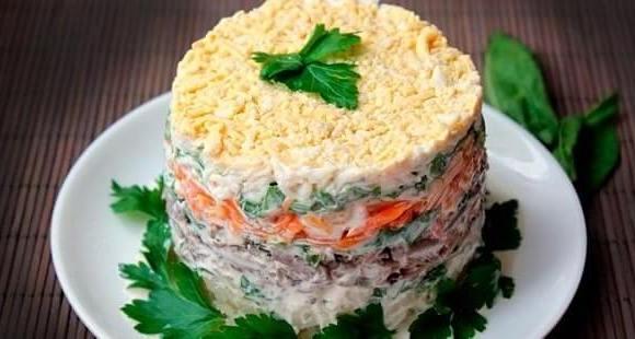 salaty na novyj god
