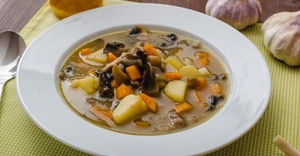 sup iz belyh gribov