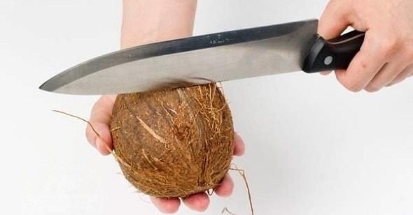kak pochistit kokos 2