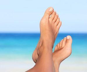Почему желтеют ногти на ногах и руках