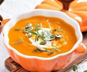 Тыквенный суп-пюре 5 рецептов
