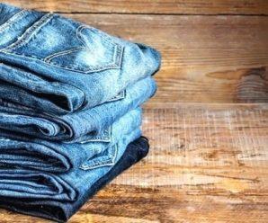 Как покрасить джинсы синькой