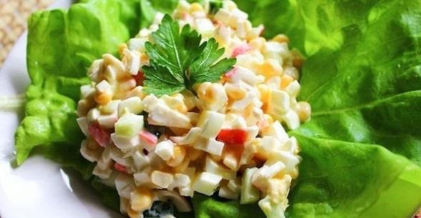 salat s krabovymi palochkami 7