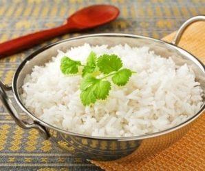 Сколько варить рис по времени