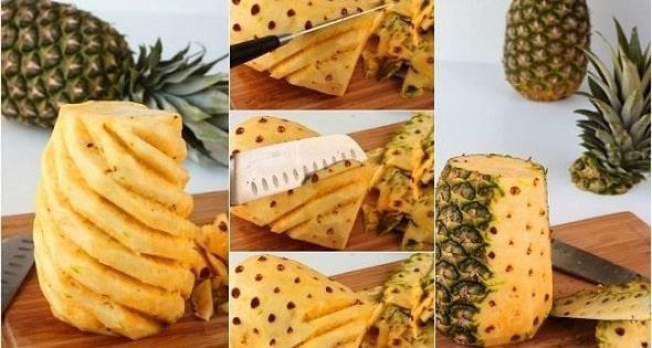 kak chistit ananas 2