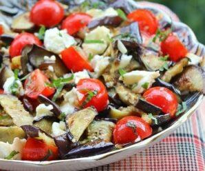 Салат с баклажанами рецепты